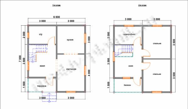 Построен дом в полтора этажа в Московской области