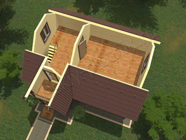 Проект БР-09 (дом 6х8)