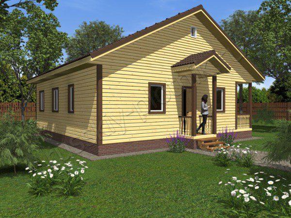 Проект БР-48 (дом 10х10)