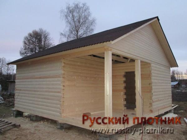 Проект Б-15 (баня 6х6)