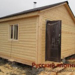 Построили баню 4х5 в Московской области