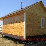 Построили баню в Ломоносовском районе