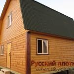 Построили баню из бруса 6х6 в Московской области
