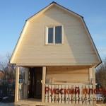 Построили баню из бруса в Клинском районе