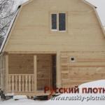 Строительство дома из бруса 6х8 (10БР)