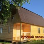 Построили дом 7х8 в Вологодской области