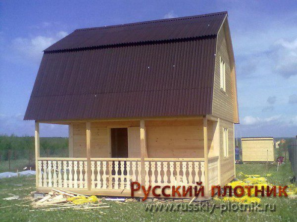 Проект БР-20 (дом 5х5)