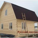 Строительство дома из бруса 6х6 (БР23)
