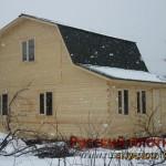Строительство дома из бруса 6х7,5 (27БР)