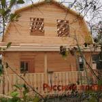 Строительство дома  из бруса 6х7,5 (29БР)