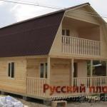 Построили дом 6х8 в Ленинградской области