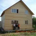 Строительство дома из бруса 8х10 (31БР)