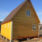 Построили дом 6х8 в Пензенской области
