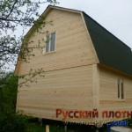 Строительство дома 6х6 в Ярославской области)