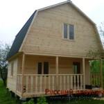 Строительство дома 6х6 в Ярославской области