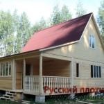 Строительство дома из бруса 9х8 (4БР)