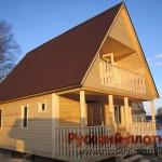 Построили дом 6х9 в Карелии
