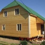 Построили дом из бруса в Рязанской области