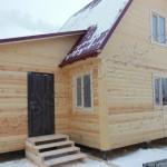 Построен дом в городе Волхов 6х9