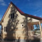 Построен дом в Карелии