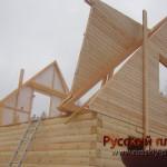 Построен дом 6х6 в Чеховском районе