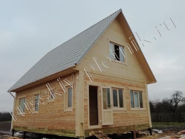 Построили дом 6х9 в Лужском районе