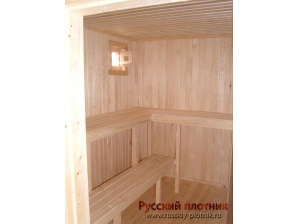 Проект Б-19 (баня 6х6)