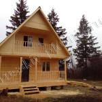 Построен дом 6х9 в Орловской области