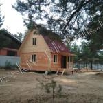 Построен дом 6х6 в Рязанской области