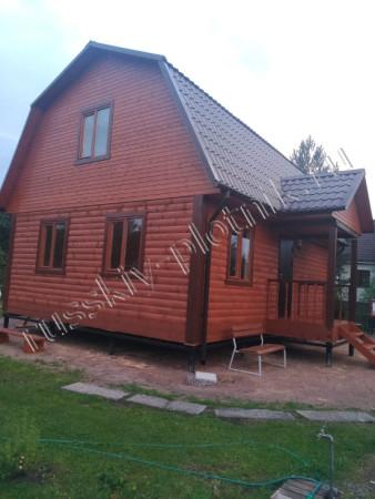 Дом из бруса 6х8 (5БР)