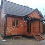 Построен дом 6х8 в Ленинградской области
