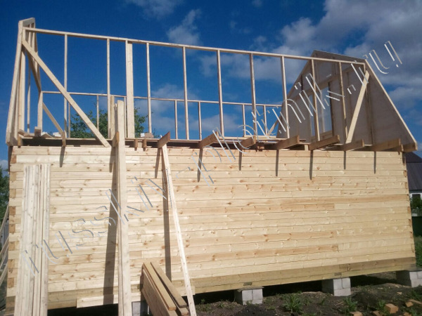 Построен дом 6х8 в Тамбовской области