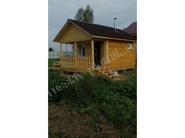Построили баню 4х6 в Московской области