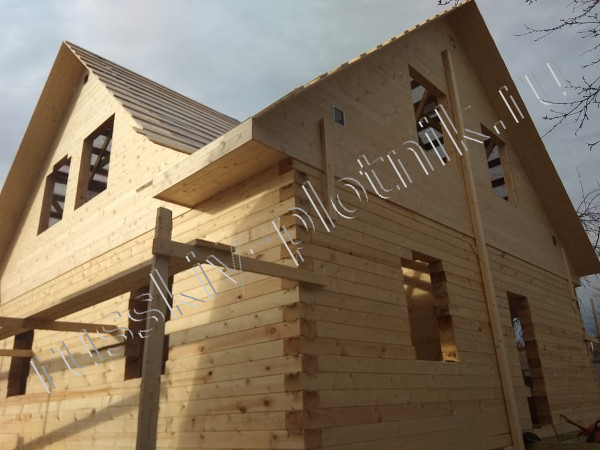 Построили дом 8х10 в Рязанской области