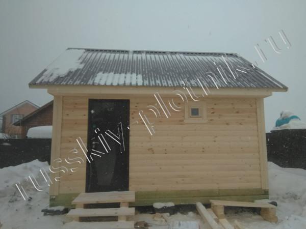 Построена баня 4х5 в городе Липецк