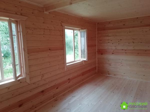 Построили дом 6х7 в Калужской области