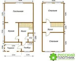 Проект БР-12 (дом 6х10)