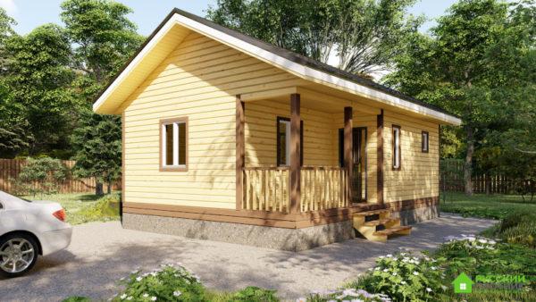 ПроектБР-74 (дом 6х9)