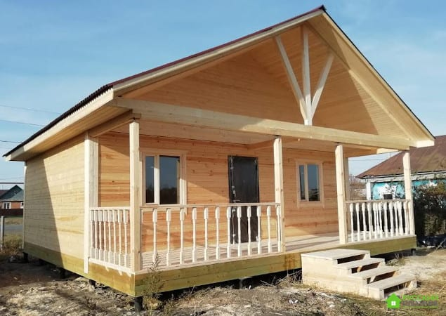 Построили дом 8х8 в Пензенской области