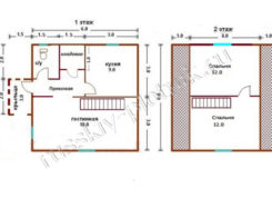 Проект БР-28 (дом 6х6)