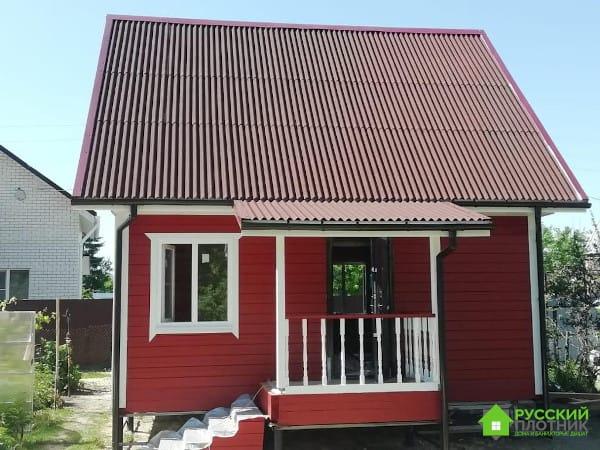 Дом из бруса в Тамбове