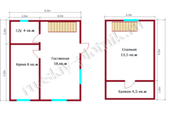 Проект БР-21 (дом 5х6)
