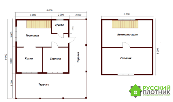 Проект БР-64 (дом 8х9)