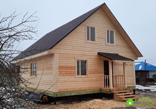 Дом из бруса 8х10