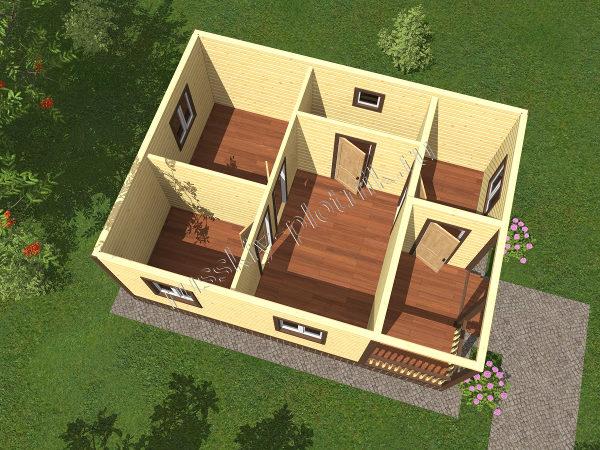 Проект БР-61 (дом 8х8)