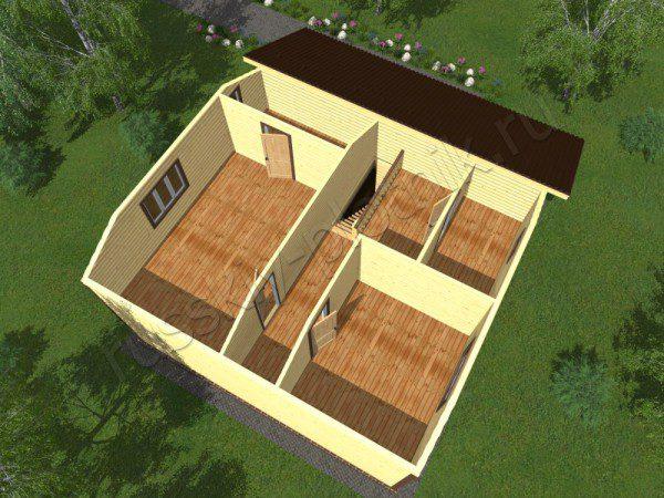 Проект БР-47 (дом 9х11)
