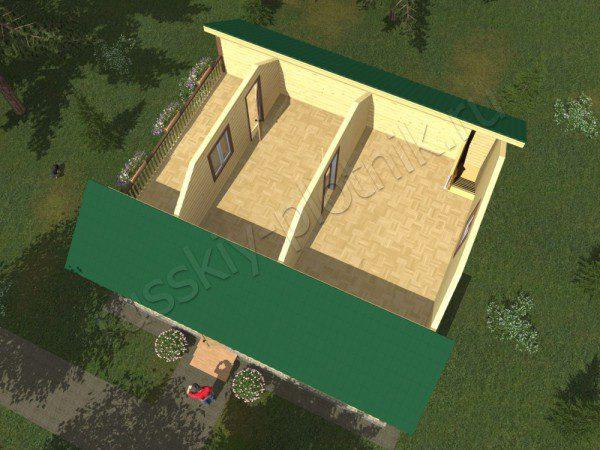 Проект БР-02 (дом 9х9)