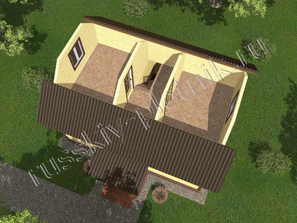 Проект БР-06 (дом 6х8)