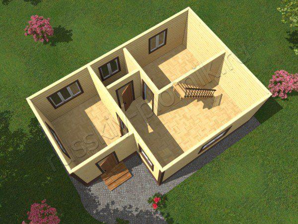 Проект БР-49 (дом 6х9)