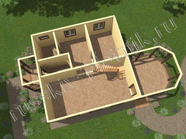 Проект БР-01 (дом 8х8)